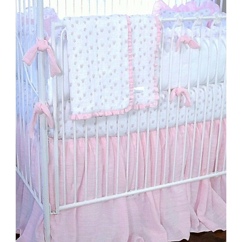 Butterfly Tales 3 Piece Crib Bedding Set