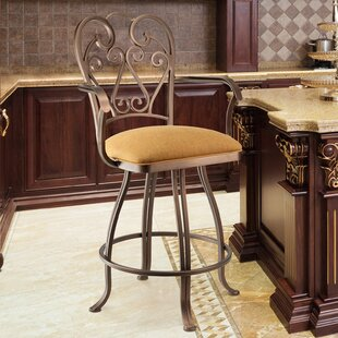 Denys 26 Swivel Bar Stool by Astoria Grand