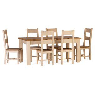 Red Lodge Extendable Dining Set With 6 Chairs By August Grove