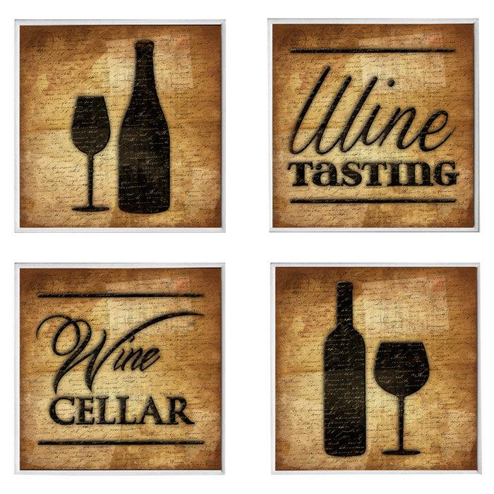 Winston Porter 4 Piece Wine Cellar Wall