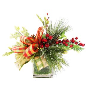 Frosted Pine Berry Arrangement