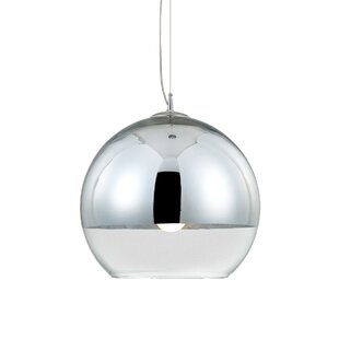 Eurofase Chromos 1-Light Globe Pendant