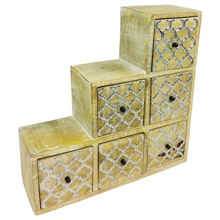 Fitch 6 Drawer Chest By World Menagerie