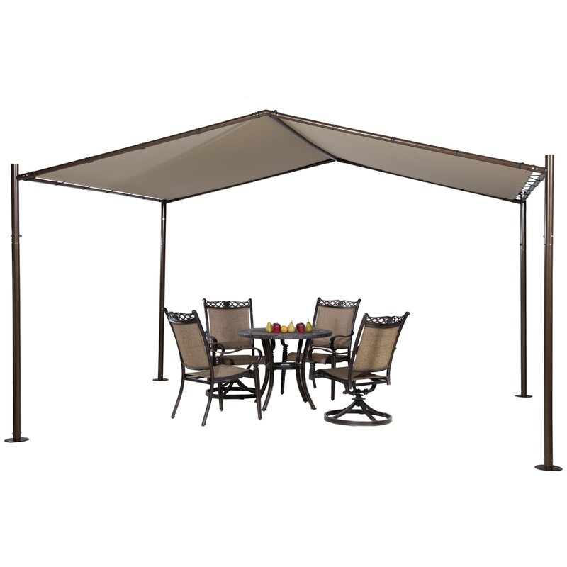 Abba Patio 13 Ft. W x 12 Ft. D Steel Pop-Up Canopy