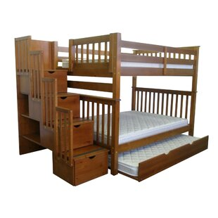 Tena Full over Full Bunk Bed with Full Trundle