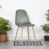Gokey Velvet Upholstered Side Chair in Green (Set of 2) by Corrigan Studio®