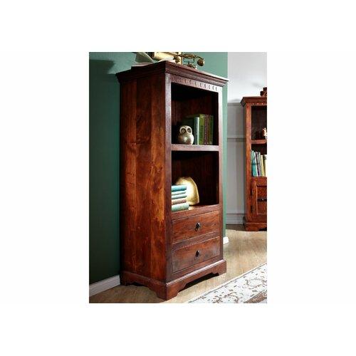 Bücherregal Oxford Massivmoebel24 Farbe: Nougat | Wohnzimmer > Regale | Massivmoebel24
