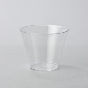 Plastic Disposable Dessert Cup (Set of 600)
