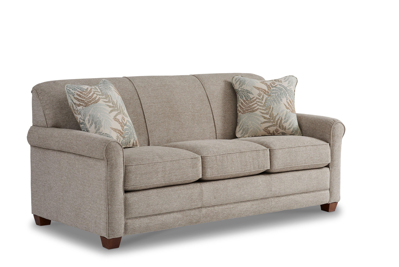 La Z Boy Amanda 79 Round Arm Sofa