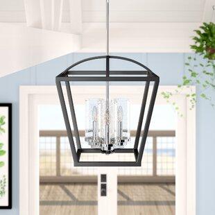 Coupon Luna 3-Light Foyer Pendant By Laurel Foundry Modern Farmhouse