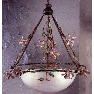 Secret Garden 3-Light Bowl Pendant by Classic Lighting