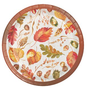 Tova Give Thanks Paper Appetizer Plate (Set of 24)