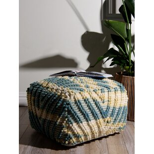 Messersmith Zigzag Pouf by Bungalow Rose