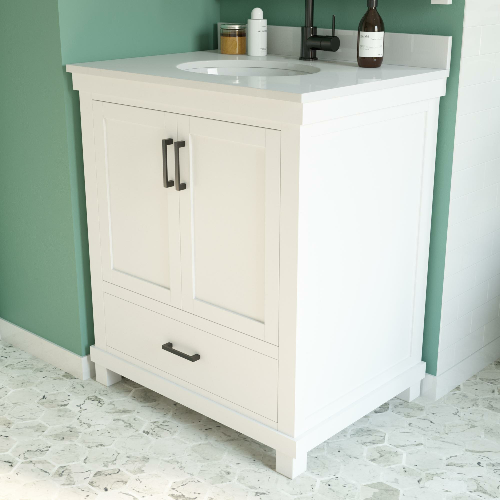 Winston Porter Norfolk 30 Single Bathroom Vanity Reviews Wayfair