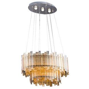 House of Hampton Coyan 5-Light LED Crystal Chandelier