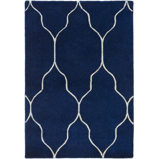 Best Reviews Moreton Cobalt/Light Gray Area Rug By Darby Home Co