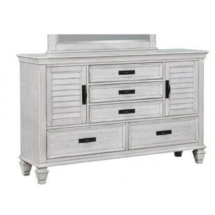 Cecere 5 Drawers Nightstand