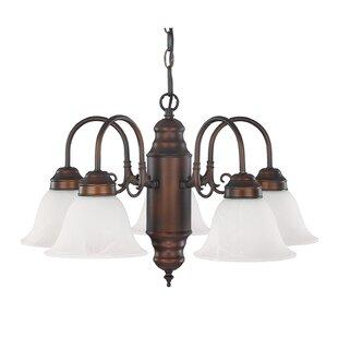 Capital Lighting 5-Light Shaded Chandelier