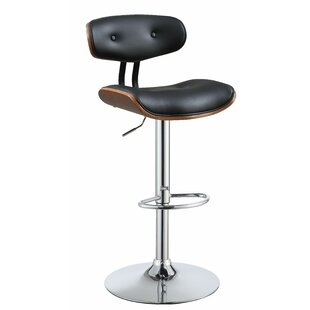 Burnley Adjustable Height Bar Swivel Stool by Corrigan Studio