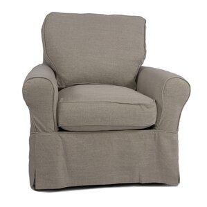 Callie Box Cushion Armchair Slipcover by August Grove