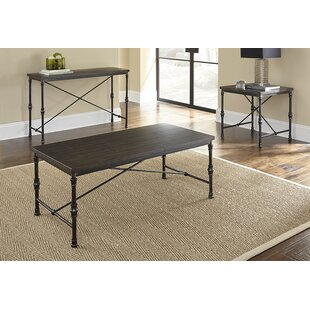 Sandrine 3 Piece Coffee Table Set Williston Forge