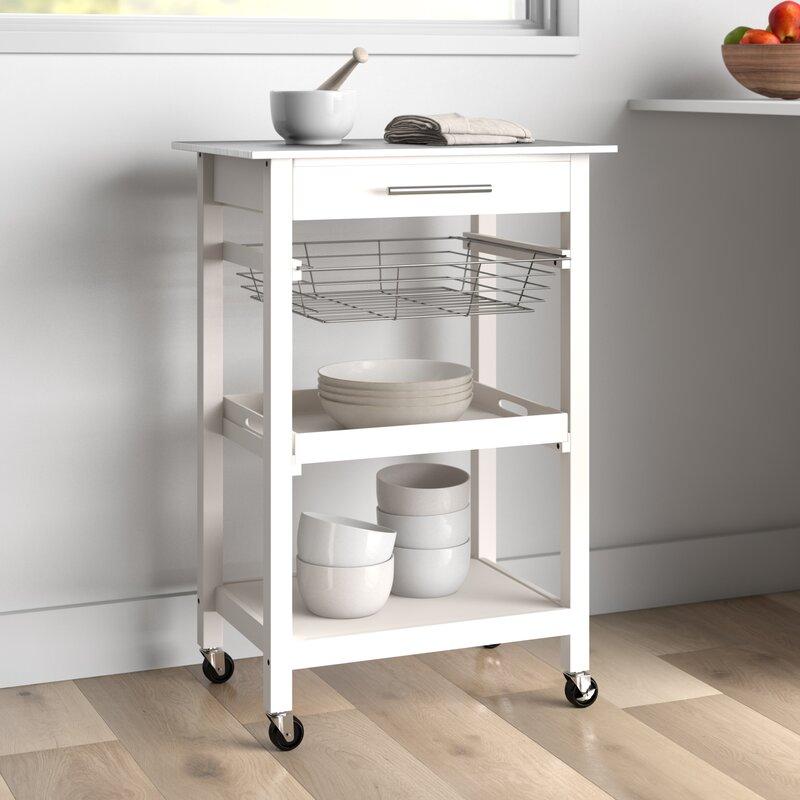 Dotted Line Emmett Kitchen Cart