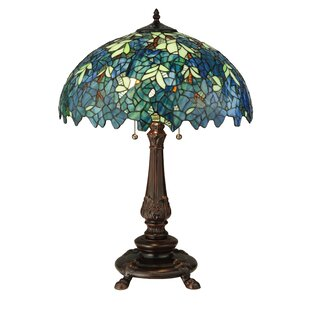 Nightfall Wisteria 26 Table Lamp