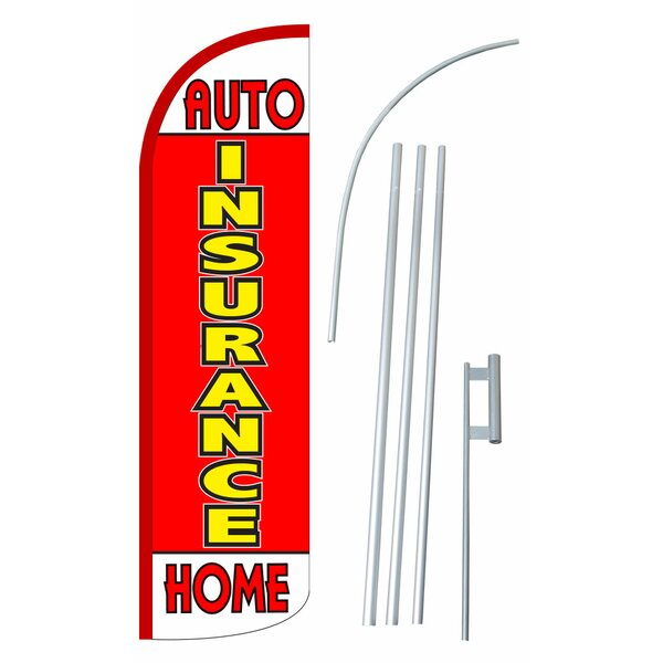 Neoplex Insurance Auto And Home Polyester 180 X 30 In Flag Set Wayfair Ca