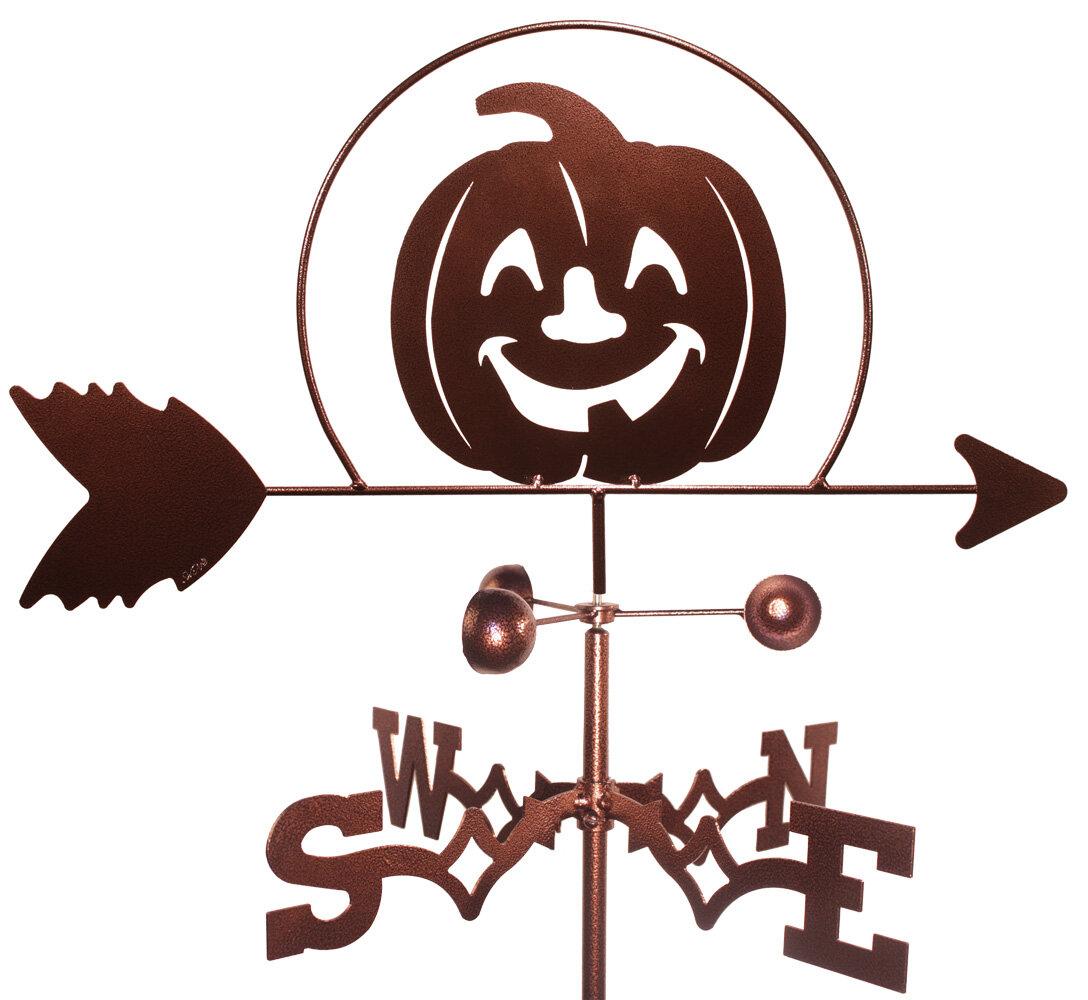 Swenproducts Pumpkin Halloween Weathervane Wayfair