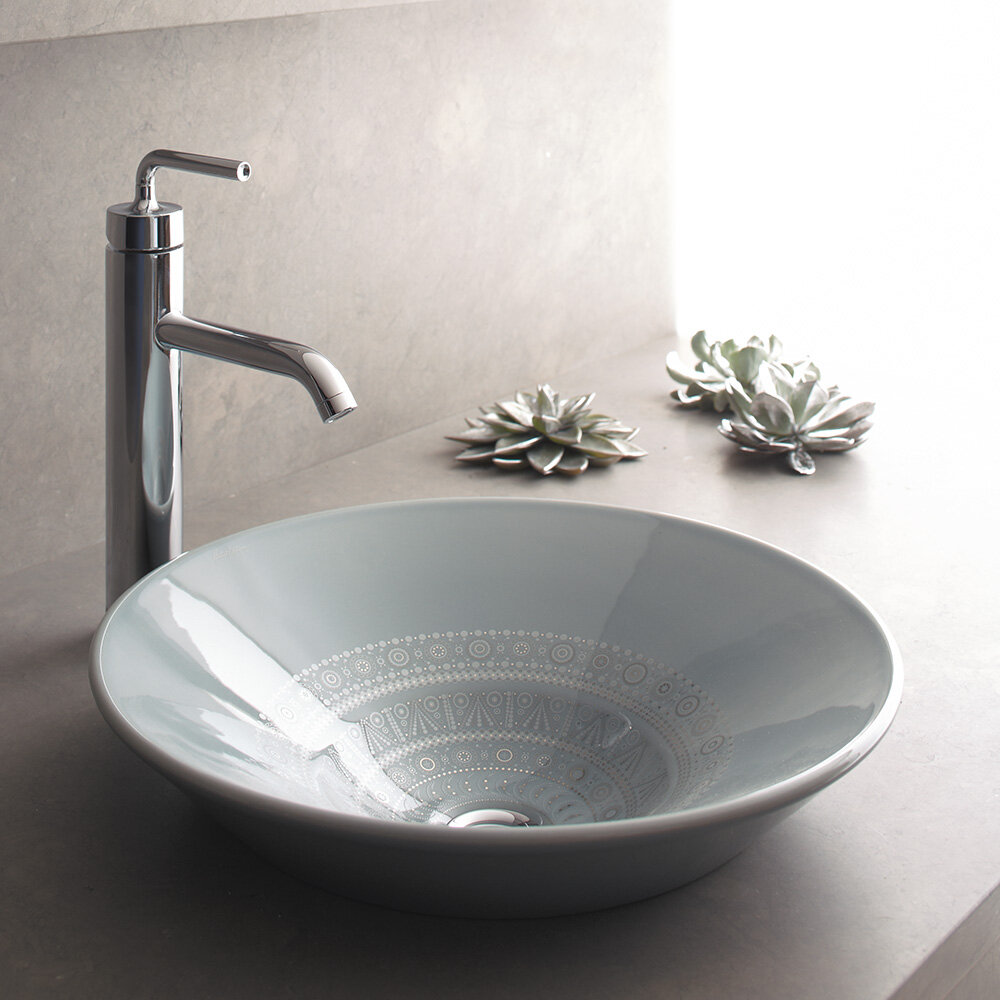 Kohler Caravan Ceramic Circular Vessel Bathroom Sink Wayfair