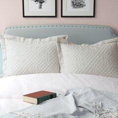 100 Cotton Eider Ivory Pillow Shams Euro Shams You Ll Love In 2021 Wayfair