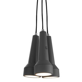 Torcia 3 Light Outdoor Pendant By Karman