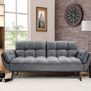 Redington Convertible Sofa by Wade Logan