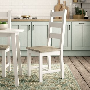 Seymour Solid Wood Dining Chair (Set Of 2) By Beachcrest Home