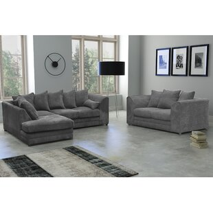 Darcey 4 Seater Corner Sofa With 2