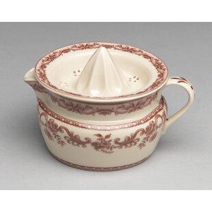 AA Importing Porcelain Transferware Juicer