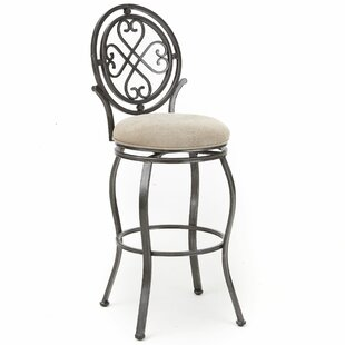 Abbot 41 Swivel Bar Stool Fleur De Lis Living
