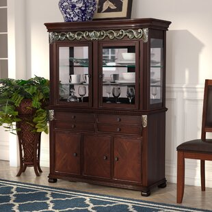 Three Posts Cedar Creek China Cabinet Top