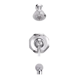 Draper Diverter Tub and Shower Faucet with Trim by Danze®