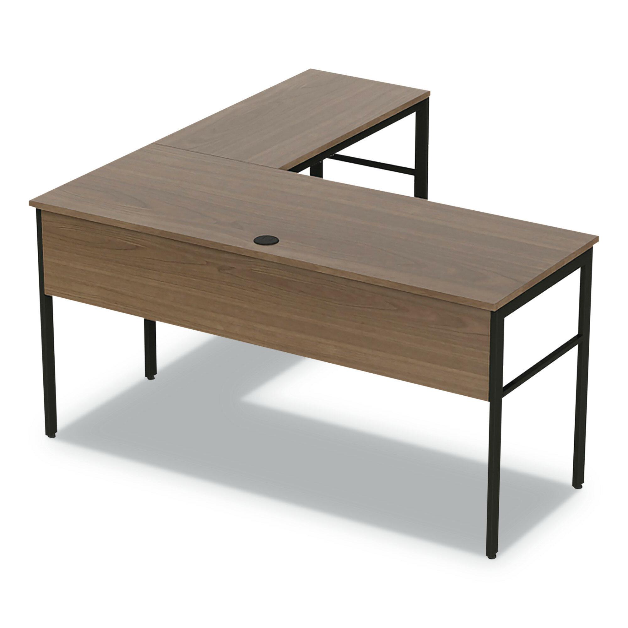 Winston Porter Spiegel L Shape Executive Desk Reviews Wayfair