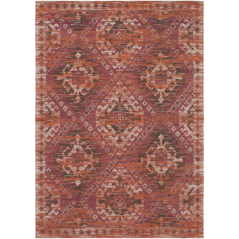 Union Rustic Woodhouse Oriental Handmade Flatweave Cotton Garnet Area Rug Reviews Wayfair