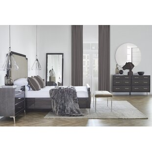 Chloe Panel 4 Piece Bedroom Set by Resource Decor Comparison
