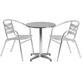Kalavasos Round Indoor and Outdoor 3 Piece Bistro Set