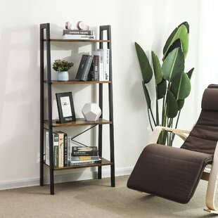 Parikh 4-Tier Ladder Bookcase by Williston Forge