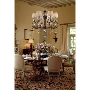 Astoria Grand Rogge 6-Light Shaded Chandelier
