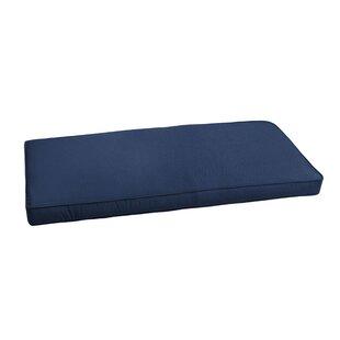 Mozaic Company Canvas Indoor/Outdoor Sunbrella Bench Cushion