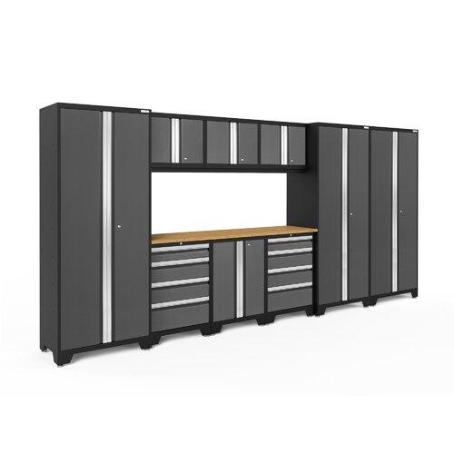 Rebrilliant Chavez 4 Piece Workbench Mobile Storage Unit And 2