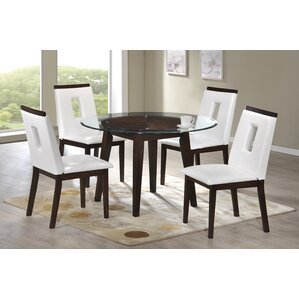 Cowell 5 Piece Dining Set by Latitude Run