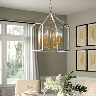 Evelina 6-Light Lantern Pendant by Laurel..