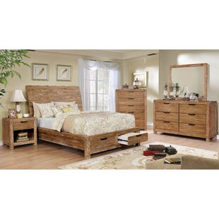 Union Rustic Perez Queen Storage Bed